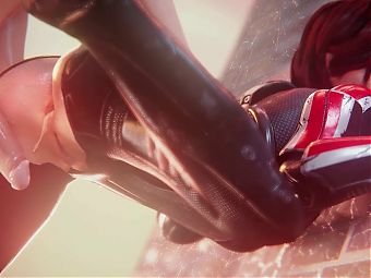 Femshep Anal Creampie (Animation With Sound)