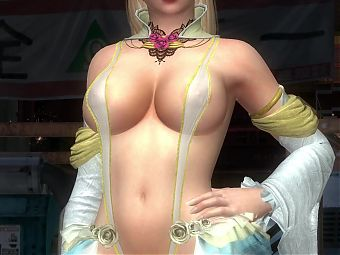 Sexy Pussy Rachel Pole Dancing from DOA