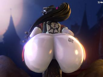 Widowmaker Insane Anal Ride BBC Version
