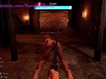 Slaves Of Rome Game - Sex Slave Getting Whipped
