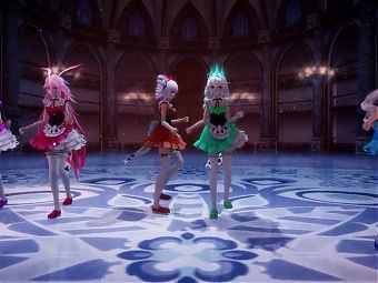 MMD girls dance