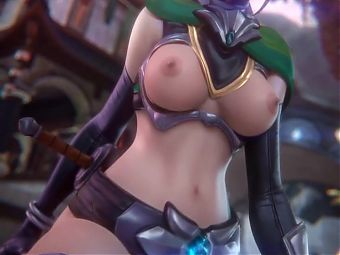 Cassie (Paladins) Grinding the Dick Deep by Fpsblyck