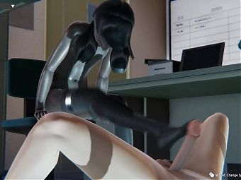 Honey select 2 – in the office with young intern