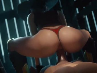 ASHE INTENSE RIDING DICK IN REVERSE COWGIRL!