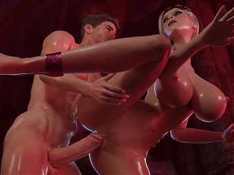 Animated Anal hard Sex with Horny MILF #1