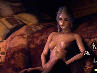 Witcher FUTA Yennefer fucks Triss Merigold 3D Animation Porn